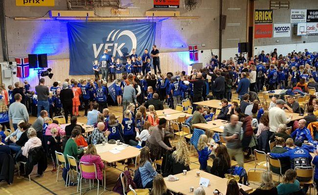 600 på årsavslutning i VFK's junioravdeling 6-12 år