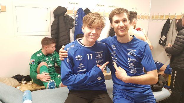 Lasse Næss og Robert Våge Skårdal putta hvert sitt mål