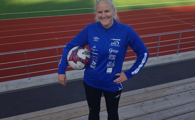 Erica Nystøl leder for VFK's jenteakademi