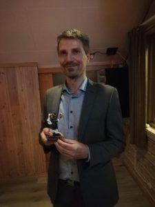 Stian Bøe ble selvsagt kåret til årets supporter