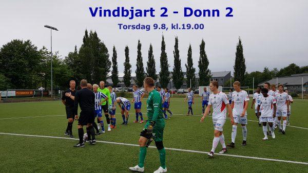 Før kampen Vindbjart 2 – Donn 2