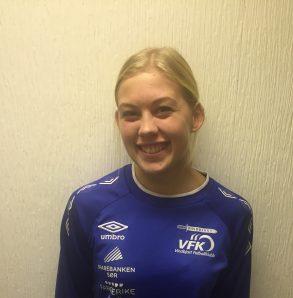 Emilie Holen Larsen ble matchvinner for damene mot Våg/Torridal