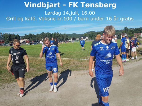 Før kampen Vindbjart – FK Tønsberg