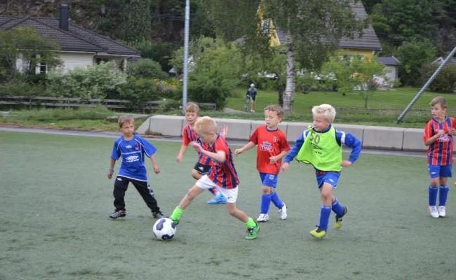 Påmelding fotballskole