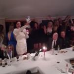 Damene feirer en fantastisk sesong