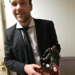 Årets spiller og toppscorer på A-laget med 20 mål, Øyvind Gausdal.