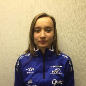 Amanda var en av mange som hadde en god kamp, jobbet utrettelig og scoret nok et mål