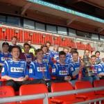 Vindbjart-gutter på Wembley