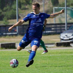 Follis ble matchvinner mot Tønsberg.  Foto: Odd Inge Bakkejord