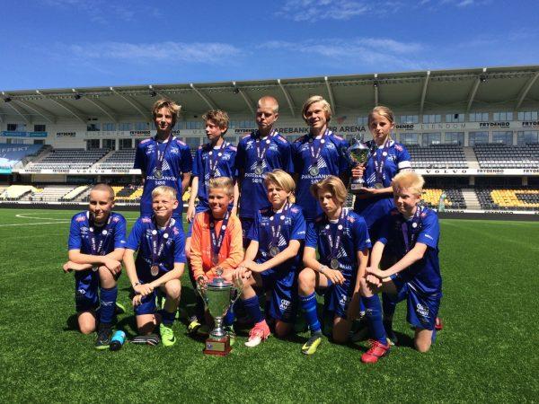 Sølv til G14 og VFK er beste klubb i Sør Cup