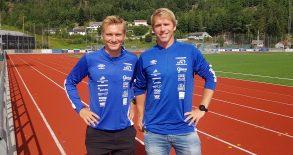 Jon Hodnemyr og Kjetil Myrvold skal lede VFK sitt A-lag fra 2022