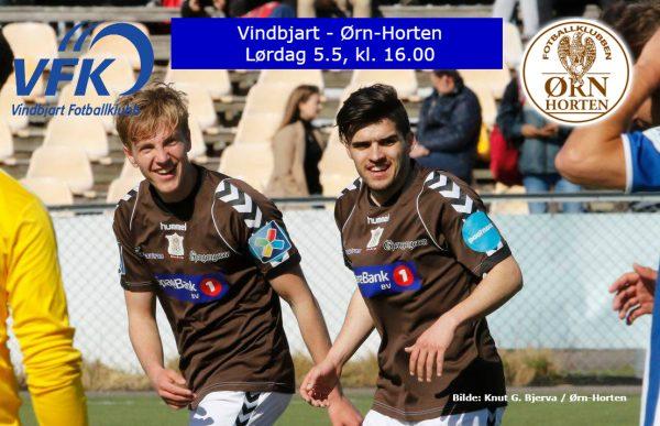 Vindbjart – Ørn-Horten lørdag kl. 16