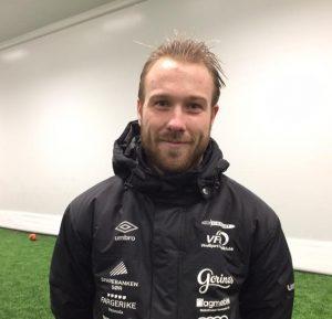 Keepertrener på VFK Akademiet, Nicolai Larsen Berg