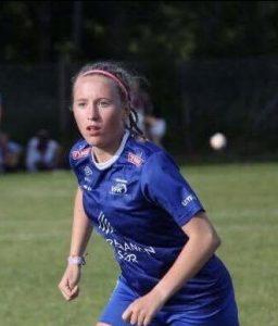 J16-spilleren Kjersti Aamdal gjorde en stor kamp for damelaget