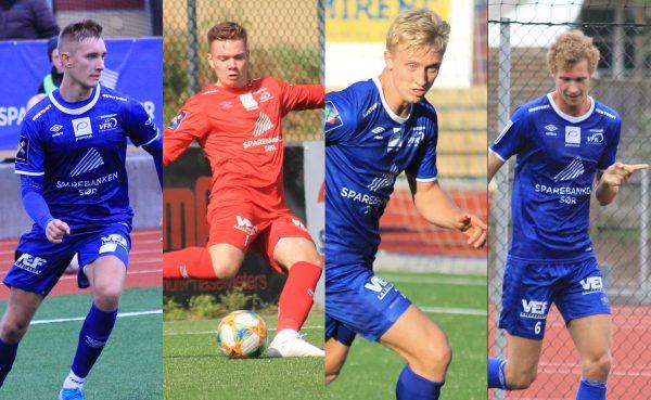 4 spillere fra VFK tatt ut til Sørlandslaget