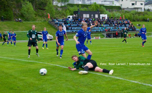 Før kampen mot Staal Jørpeland