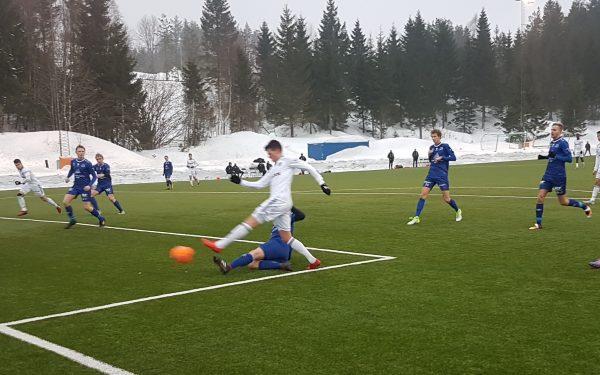 Treningskamper for A-laget i vinter