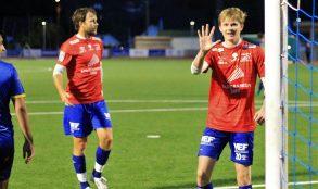 5 mål ble det på Anders Bjørge